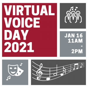Virtual Voice Day graphic